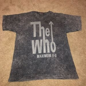 Vintage The Who Maximum R&B Stonewashed T-shirt!